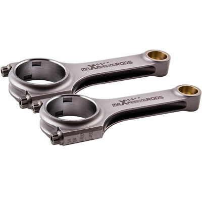 H-Schaft Pleuel für Fiat 500 engines 130mm Conrod Bielle Connecting Rod Rods ARP