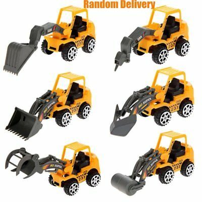 Kids Mini Car Toy Engineering Vehicle Model Educational Toy Construction Sets KD