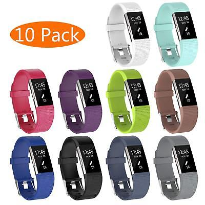 Replacement Bands Compatible for Fitbit Charge 2 Classic Edition Sport Wristband