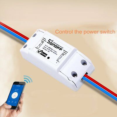 Sonoff Smart Home WiFi Wireless Switch Module Monitor For IOS Android APP Ctrl