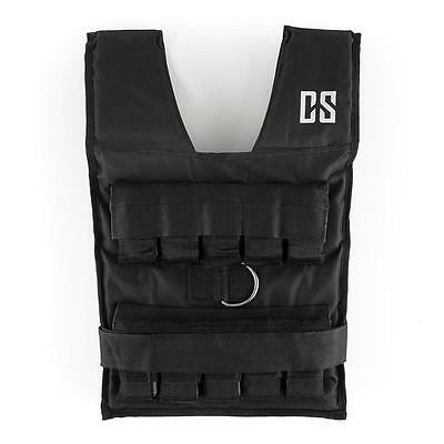 Weight Vest Gym Body Weighted Running Fitness Training Strength Slimming 20kg