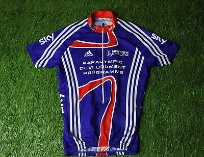 Cycling Shirt Jersey Great Britain Paralympic Development Programme Sky Adidas