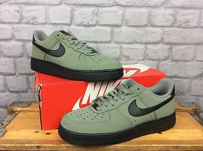 popular stores huge inventory good looking NIKE MENS UK 9 Eu 44 Khaki Black Air Force 1 Essential Low ...