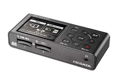 NEW I-O DATA GV-SDREC Video Capture VHS 8mm Dubbing SD Card  HDD PC Unnecessary