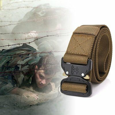 Adjustable Nylon Waist Belt Tactical Belt Multifunction Outdoor Training Belt VP