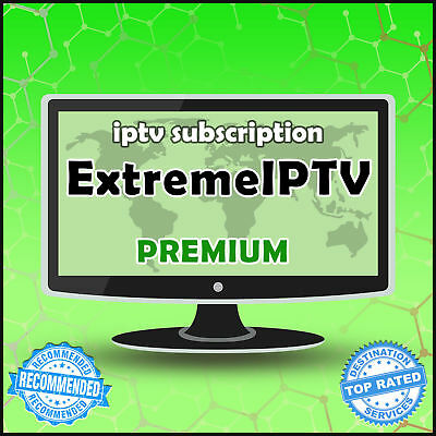 IPTV 12 MONTHS Subscription Smart IPTV-Firestick-Mag Box-STB-Premium