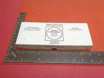 Thermo Shandon 5991022 laboratory thick white filter cards box of 200 LOTLBE892W
