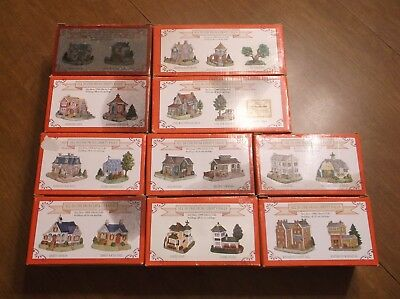 Huge Lot Of 1999 LIBERTY FALLS Village Houses