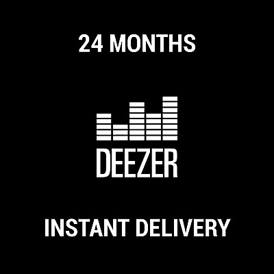Deezer Premium Subscription / 24 Months / Instant Delivery / Worldwide
