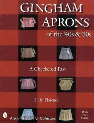 Vintage Gingham Aprons of 1940s & '50s - Collector Guide Checkered & Cross Stich