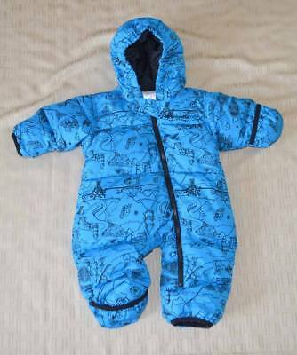 ea4e7feaff72 COLUMBIA BABY INFANT One Piece Snow Suit Bunting - Sz 6-12 Months ...