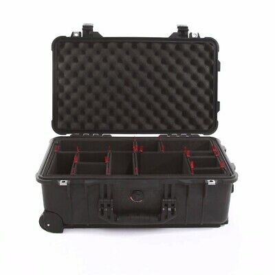 Black Pelican ™ 1510 Case with TrekPak Divider System free engraved nameplate