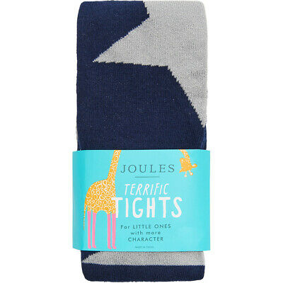 Joules Partykin Party Girls Underwear Tights - Navy All Sizes