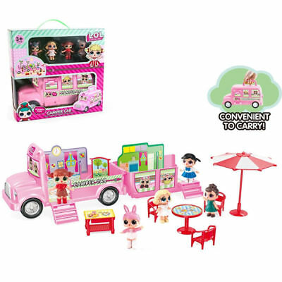 New LOL Surprise Doll Picnic Airship Car Playset Baby Figure Topper Kids Toy