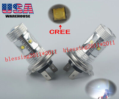 High Power LED Headlight CREE Bulbs for Honda Silver Wing 600 2002-2013 Lights