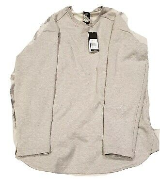 Adidas Sweatshirt Light Grey Small S Jumper With Embossing On Back