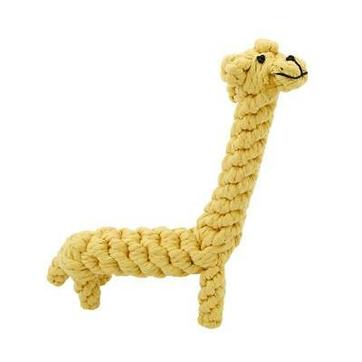 Animal Shaped Pet Chew Toy Dogs Puppy Dog Rope Cotton Knot Clean Teeth Tool Z