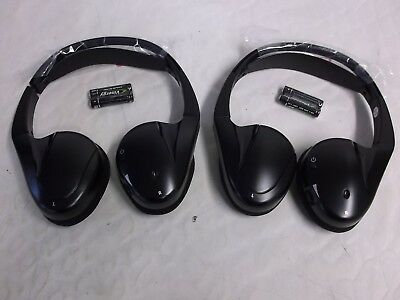 Oem Gm 2 Channel Ir Fold Rear Dvd Video Headset Headphone 2Pc 20830570