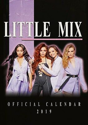 Brand new official 2019 A3 Wall Calendar - Little Mix