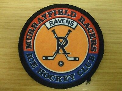 Murrayfield Racers: Vintage Cloth Patch/badge: British Ice Hockey Team: Look !!!
