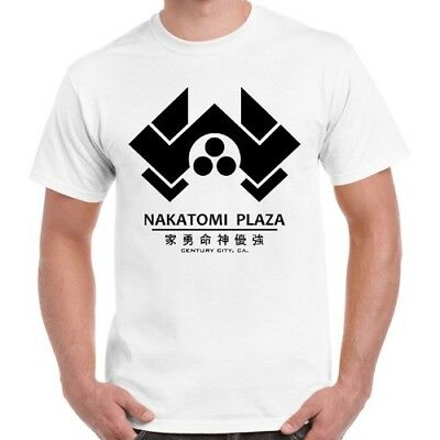 Nakatomi Plaza Die Hard 80s Film Classic Movie Cool Vintage Retro T Shirt 486