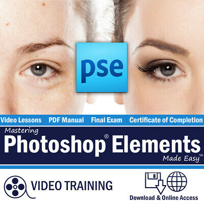 New Learn PHOTOSHOP ELEMENTS 2019 Training Tutorial Course Online Course OKC