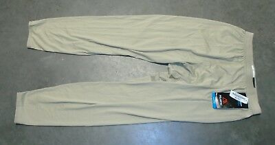 US Military Issue Tan Light Silk Weight ECWCS Cold Weather Drawers Polartec MR
