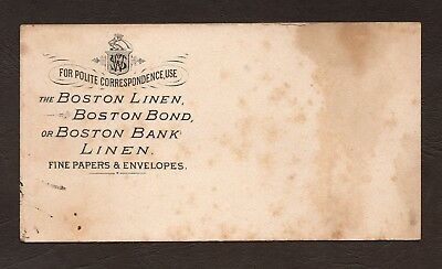 Vintage Boston Linen, Boston Bond Papers & Envelopes Ink Blotter