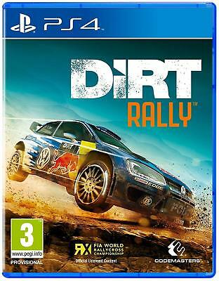 Dirt Rally PS4 Sony PlayStation 4 Brand New Sealed Racing Game