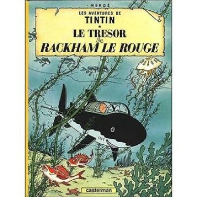 Adventures of Tintin: Le Tresor de Rackham le Rouge by Herge (HB 1959) French Ed