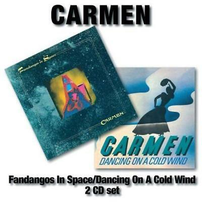 Carmen - Fandangos in space/Dancing on a cold wind CD (2) Angel Air NEU