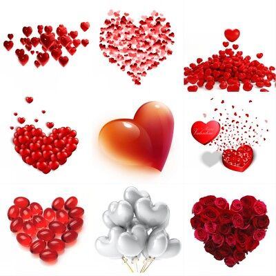 Romantic Hearts Backdrops Party Valentine'Day Photography Background 3x5/5x7ft