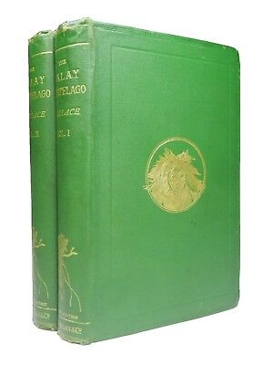 THE MALAY ARCHIPELAGO | Alfred Russel Wallace | 1869 | Second Edition