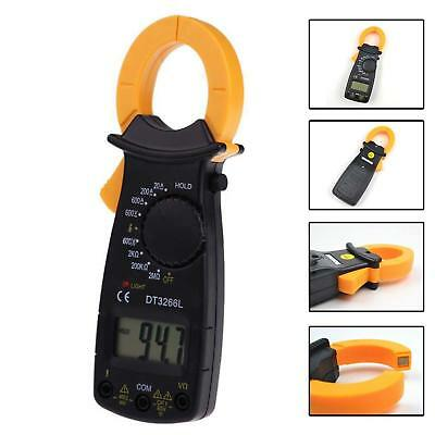 Portable LCD DIGITAL Clamp Multimeter AC DC Voltage Electronic Tester Meter Z#