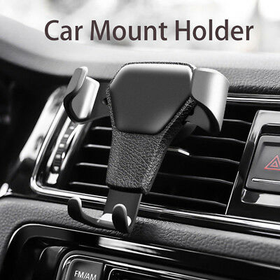 Car Air Vent Mount Gravity Cradle Holder Stand for iPhone Mobile Cell Phone GPS