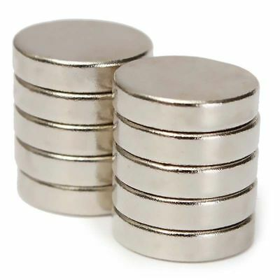 100Pcs 12x3mm Rare Earth Super Strong Magnets Disc Round Cylinder Neodymium N52