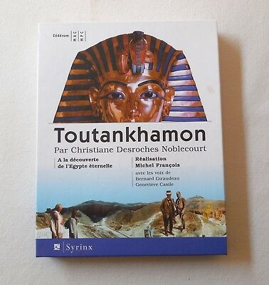 CD-ROM MAC ou PC - TOUTANKHAMON par Christiane Desroches Noblecourt + cdr Syrinx