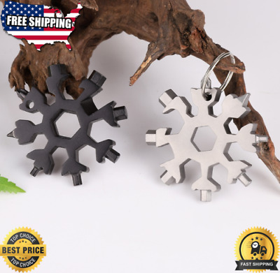 Snowflake Multi-tool 18-in-1 Functions Compact And Portable Outdoor Products VP