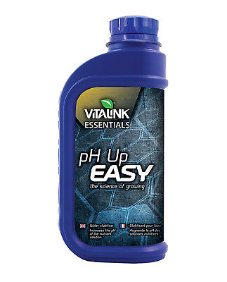 VitaLink ESSENTIALS pH Up Easy 25% Quality Adjuster Nutrient Solutions - 1L