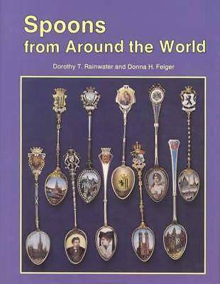 Collector Souvenir Spoon Book V3 Reference 346pg w Salt Snuff Mustache Price ID