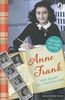 The Diary of Anne Frank (Abridged for young readers), Frank 9780141345352 New..