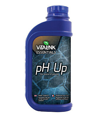 VitaLink ESSENTIALS pH Up Easy 50% Quality Adjuster Concentrated - 1L