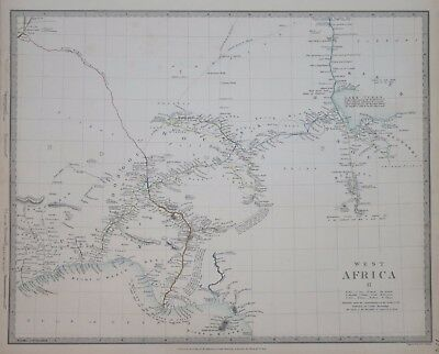 Africa - West Africa Ii...for The Sduk 1839.