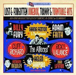 Lost & Forgotten Jukebox, Tranny & Turntable Hits - Various Artists (NEW 2CD)