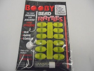 Attractor Beads Booby Beads Plaice Beads Rattle Beads