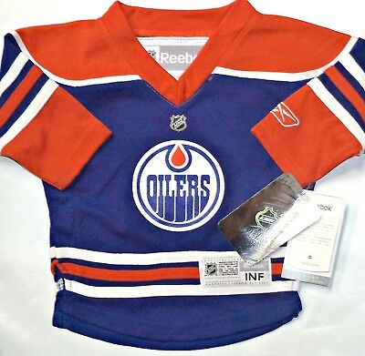7b6e9470 Brand New Tags Edmonton Oilers 12-24 Infant/baby Nhl Licensed Reebok Jersey