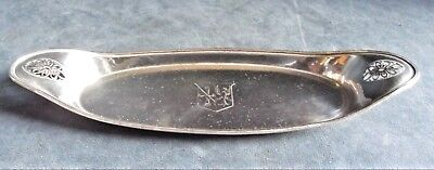 SUPERB ~ GEORGIAN ~ Family CRESTED ~ Sheffield SILVER Plate ~ Pen TRAY ~ c1800