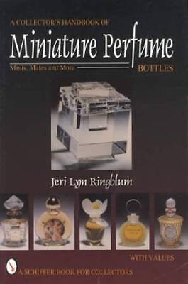 Vintage Miniature Perfume Bottle Collector Guide: 400+ Pics inc Arden Chanel Etc
