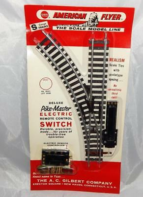 Unopened American Flyer 26321 PIKEMASTER Left Hand remote control switch blister