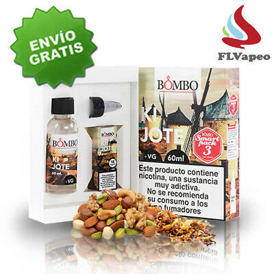 LIQUIDO VAPEAR BOMBO KIJOTE 60 ml - NICOKIT ( NICOTINA 3MG/ML ) - Vapeo